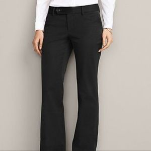 New Eddie Bauer L4 Truly Straight Fit Black Pants